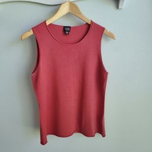 Eileen Fisher burnt red cashmere sweater M